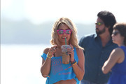 Vanessa Hudgens, Ashley Benson and Rachel Korine film scenes for the upcoming movie