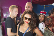 Vanessa White Cutout Dress