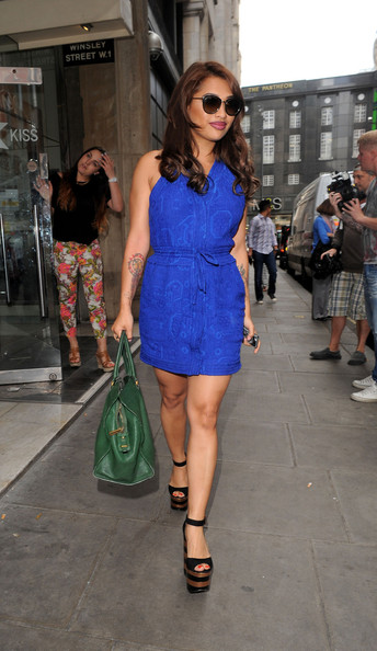 Vanessa White Day Dress