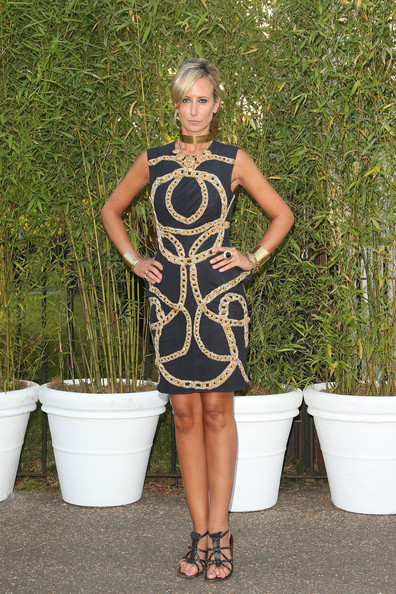 Victoria Hervey Print Dress