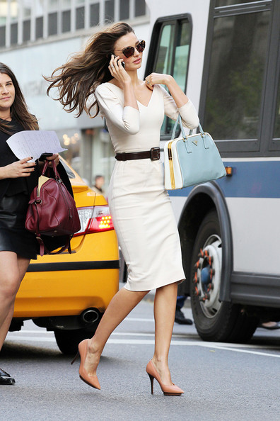 More Pics of Miranda Kerr Pumps (1 of 9) - Miranda Kerr Lookbook - StyleBistro