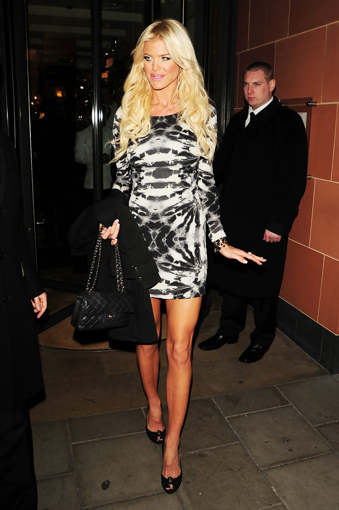 Victoria Silvstedt Quilted Leather Bag Victoria