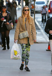 Whitney Port rocked the trendy utility jacket look while out in NYC.