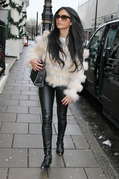 More Pics of Nicole Scherzinger Skinny Pants (1 of 7) - Nicole Scherzinger Lookbook - StyleBistro
