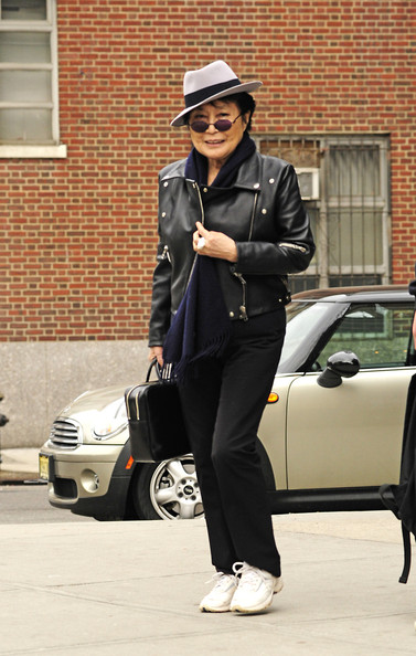 Yoko Ono Leather Jacket