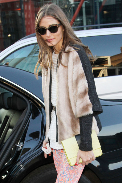 More Pics of Olivia Palermo Skinny Pants (1 of 5) - Skinny Pants Lookbook - StyleBistro