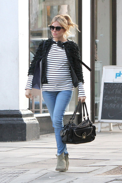 More Pics of Sienna Miller Cardigan (3 of 17) - Sienna Miller Lookbook - StyleBistro