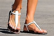 Alessandra Ambrosio Thong Sandals