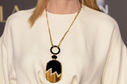 Cate Blanchett Oversized Pendant Necklace