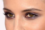 Dianna Agron Metallic Eyeshadow