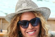 Beyonce Knowles Straw Hat