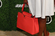 Star Jones Leather Tote