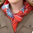 Gossip Girl Patterned Scarf