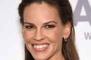 Hilary Swank Long Straight Cut