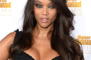 Tyra Banks Half Up Half Down