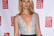 Claire Danes Fitted Blouse