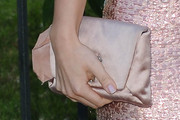 Samantha Barks Satin Clutch
