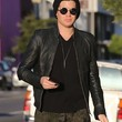 Adam Lambert Clothes - Leather Jacket