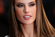 Alessandra Ambrosio Long Straight Cut