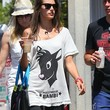 Alessandra Ambrosio Clothes - Off-the-Shoulder Top