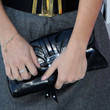 Alessandra Mastronardi Leather Clutch