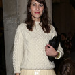 Alexa Chung Clothes - Crewneck Sweater