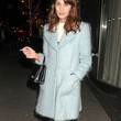 Alexa Chung Clothes - Wool Coat