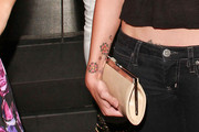 Alexis Neiers Flower Tattoo