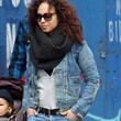 Alicia Keys Denim Jacket