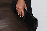 Alicia Keys Patent Leather Clutch
