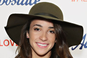 Aly Raisman Casual Hats