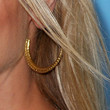 Amanda Aardsma Jewelry - Gold Hoops