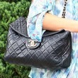 Amanda Bynes Quilted Leather Bag