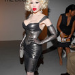 Amanda Lepore Clothes - Leather Dress