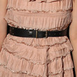Amanda Peet Leather Belt