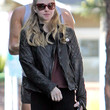 Amanda Seyfried Clothes - Leather Jacket