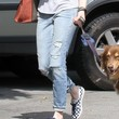 Amanda Seyfried Clothes - Ripped Jeans