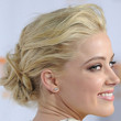 Amber Heard Hair - Loose Bun