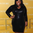 Amber Riley Clothes - Beaded Dress