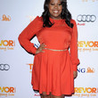 Amber Riley Clothes - Day Dress