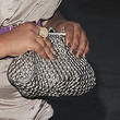 Amber Riley Leather Clutch