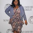 Amber Riley Clothes - Print Dress