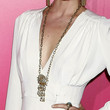 Amber Valletta Jewelry - Gold Pendant