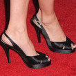Amy Brenneman Peep Toe Pumps