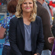 Amy Poehler Clothes - Print Blouse