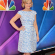 Amy Poehler Clothes - Print Dress