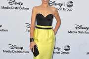 Ana Ortiz Strapless Dress
