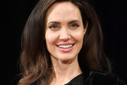 Angelina Jolie Shoulder Length Hairstyles