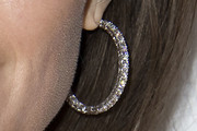 Angelina Jolie Hoop Earrings