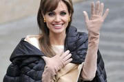 Angelina Jolie Full Sleeve Gloves